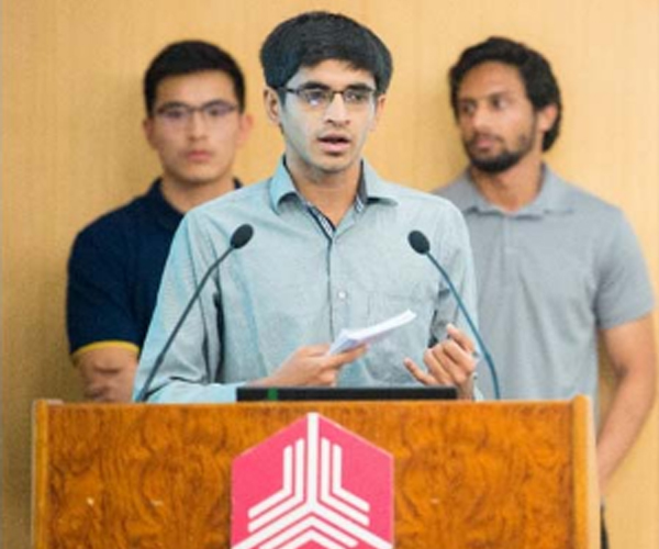 Success Story - Ahmed Raza Munaf attended Summer Program in Tsinghua University, China