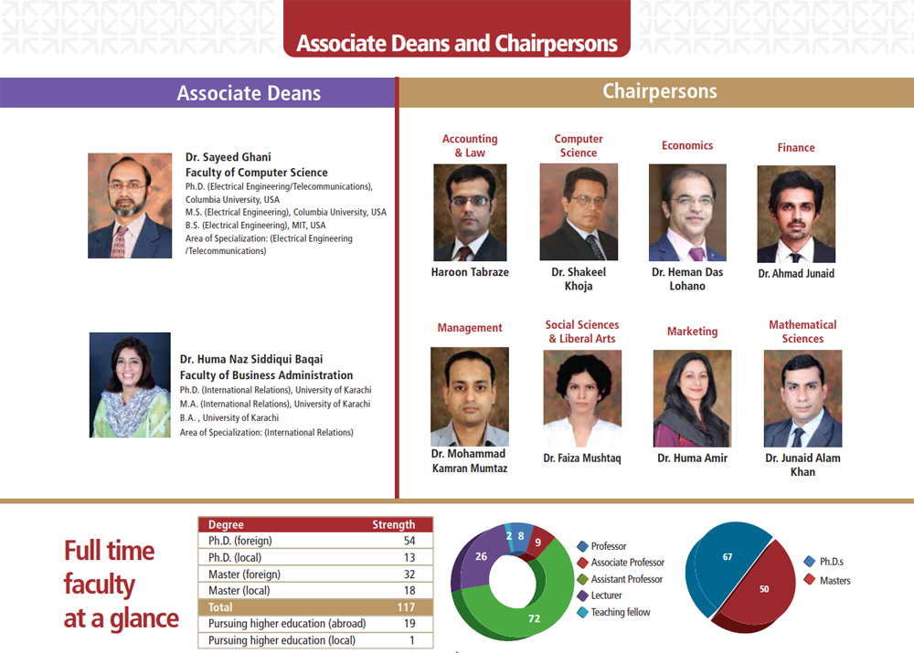 Associate Deans & Chairpersons